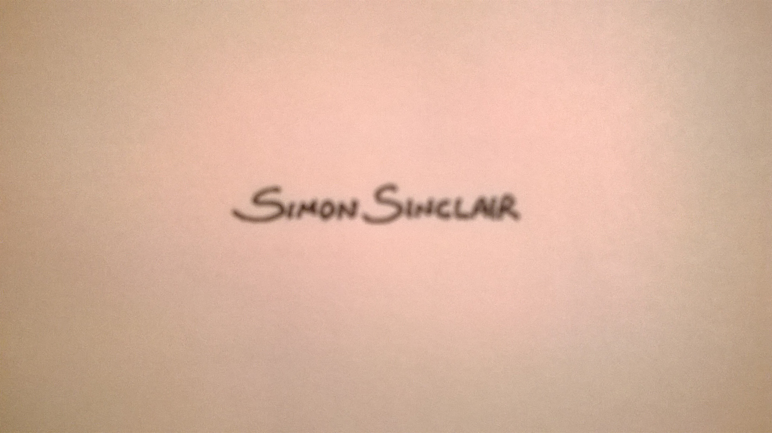 simon sinclair's Signature