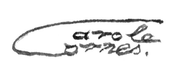 Carole Cornes's Signature
