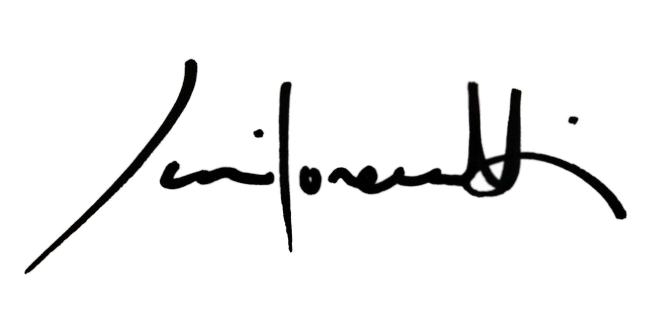 Juri Lorenzetti's Signature