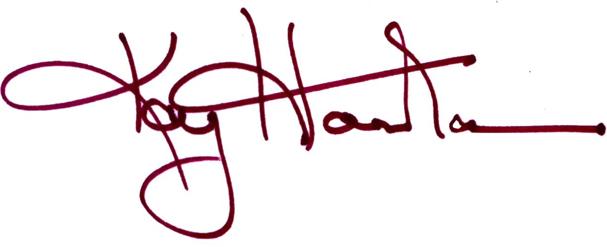 KAY HAIRSTON's Signature