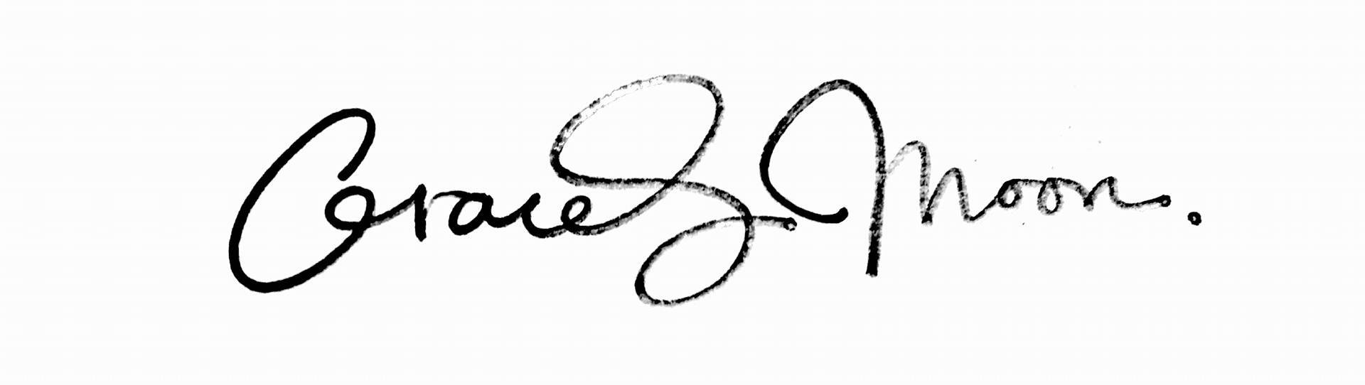 Grace Moon's Signature