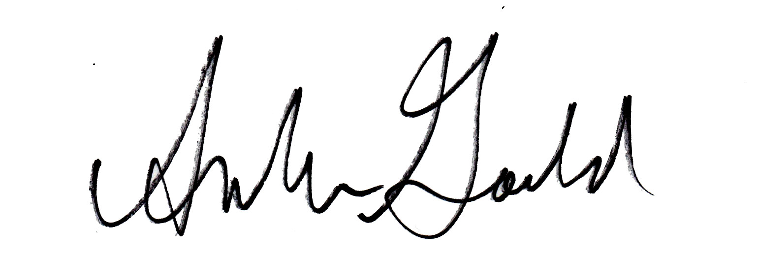 Amber Gould's Signature