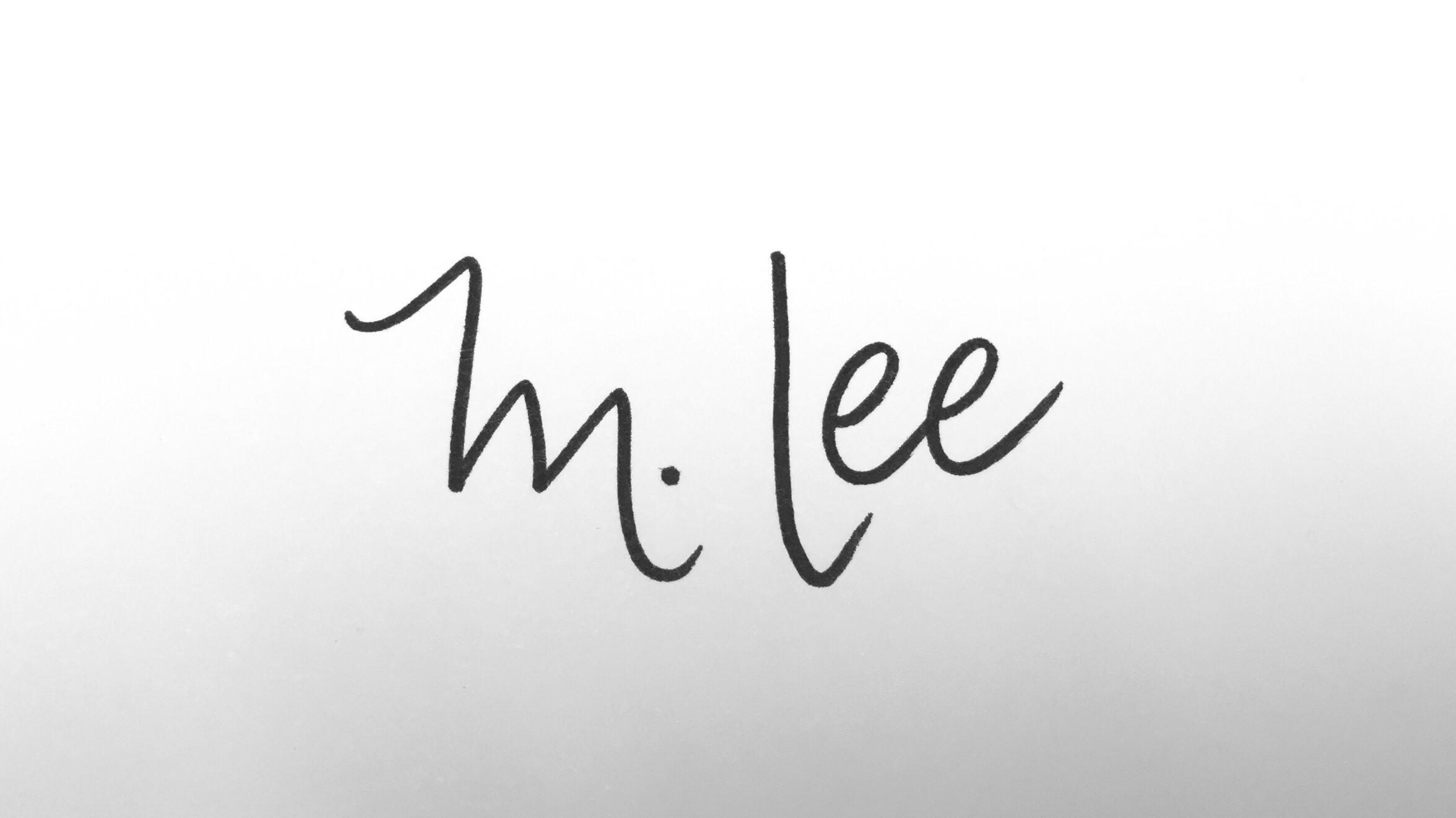 Melissa Lee's Signature
