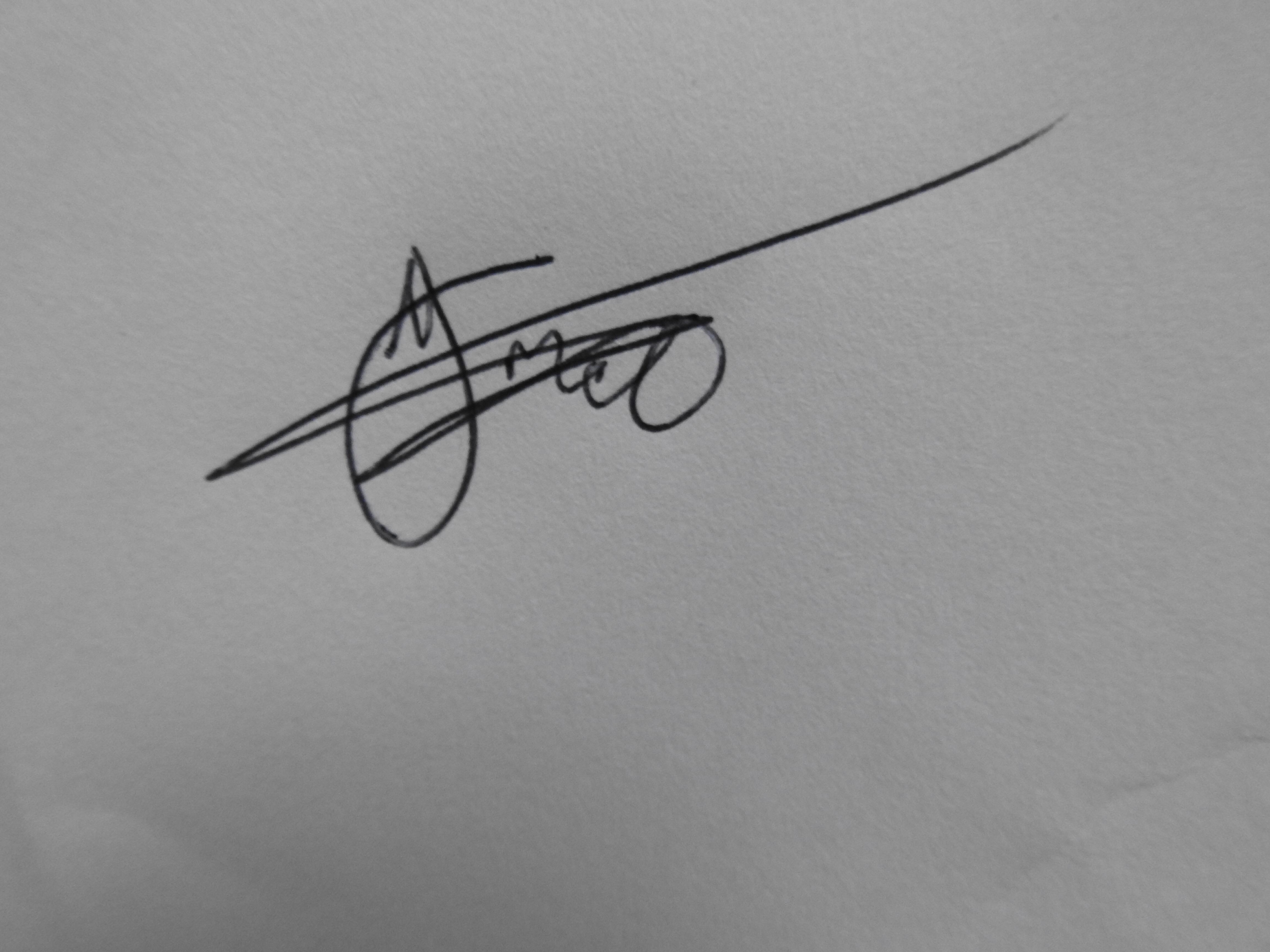 Thabo Mabotja's Signature