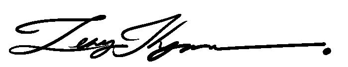 Lenny Thynn's Signature