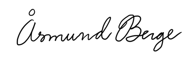 Åsmund Berge's Signature