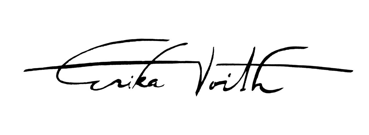 Erika Voith's Signature