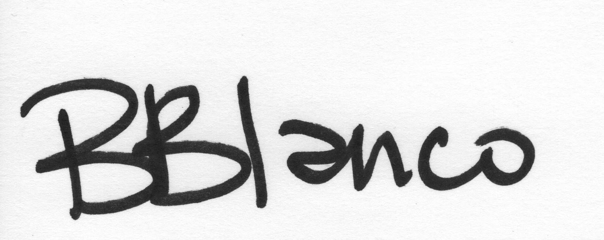 Barbara Blanco's Signature