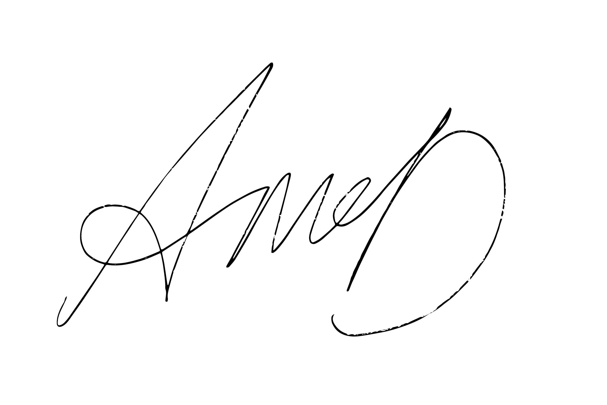 Andrew McDermott's Signature