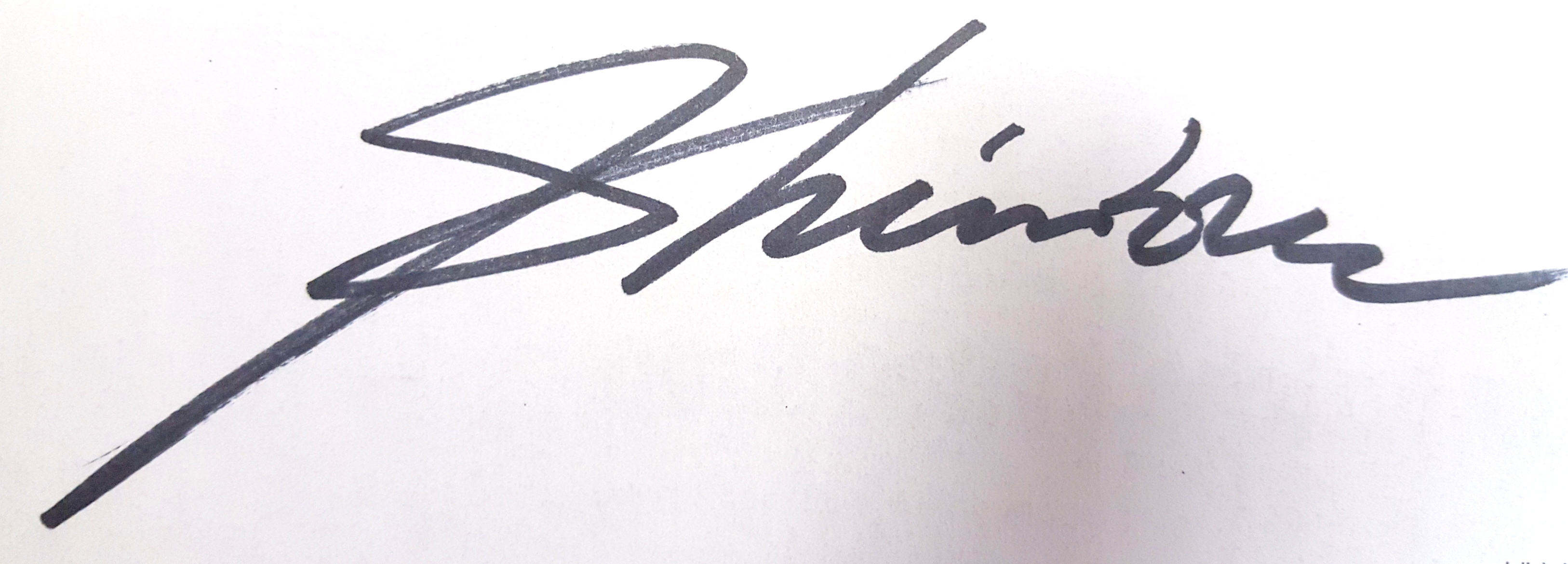 Chin H Shin's Signature