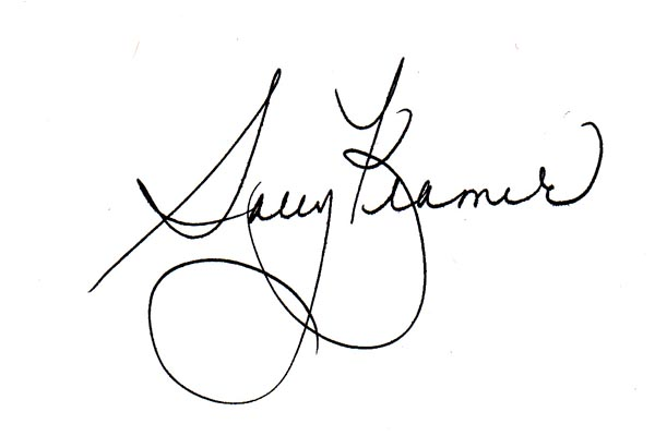 Sally Kramer's Signature