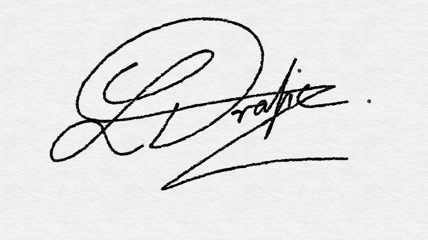 Larissa Drazic's Signature