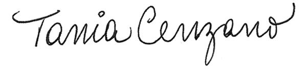 Tania Cenzano's Signature