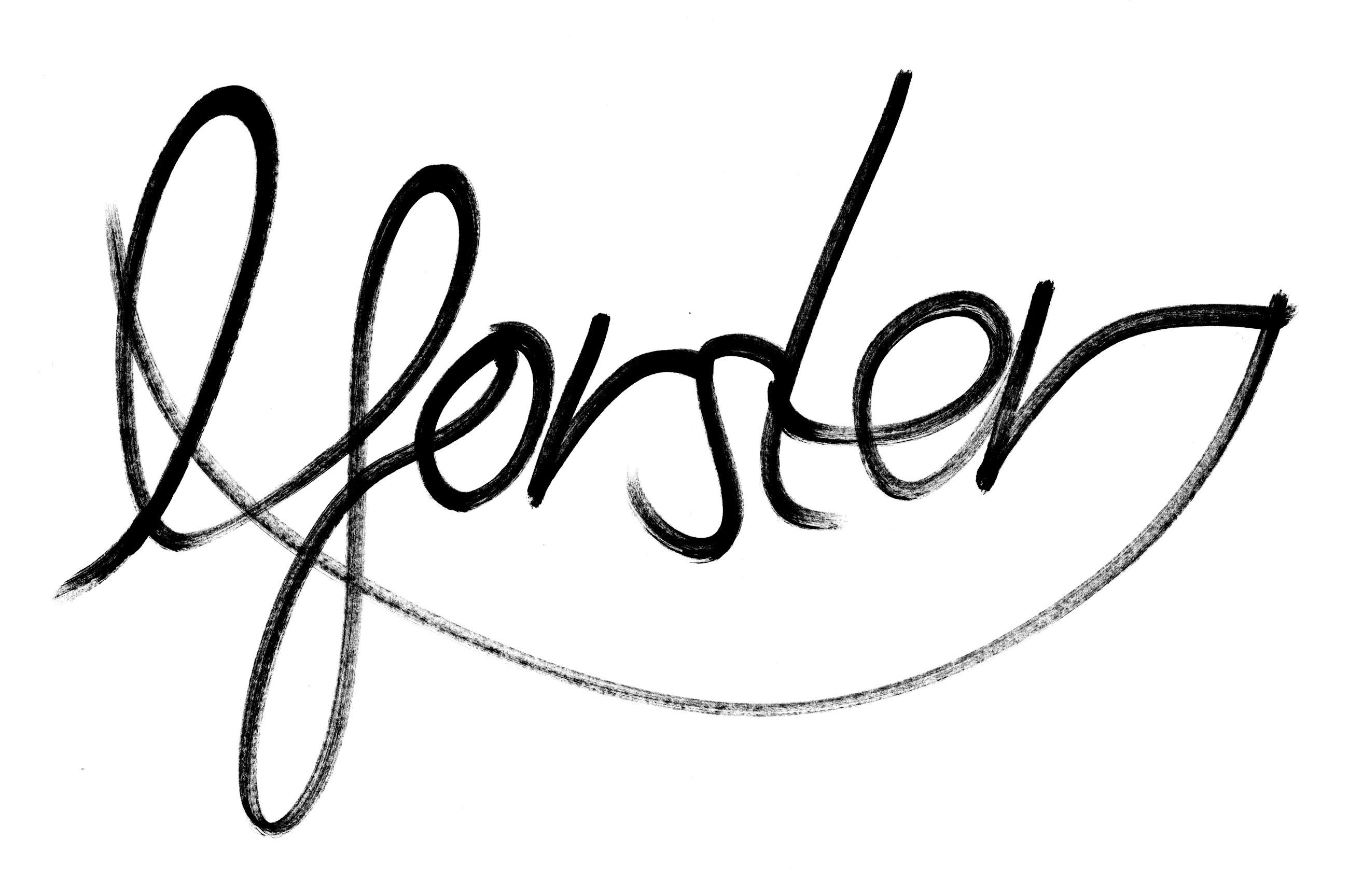 Luke Forster's Signature