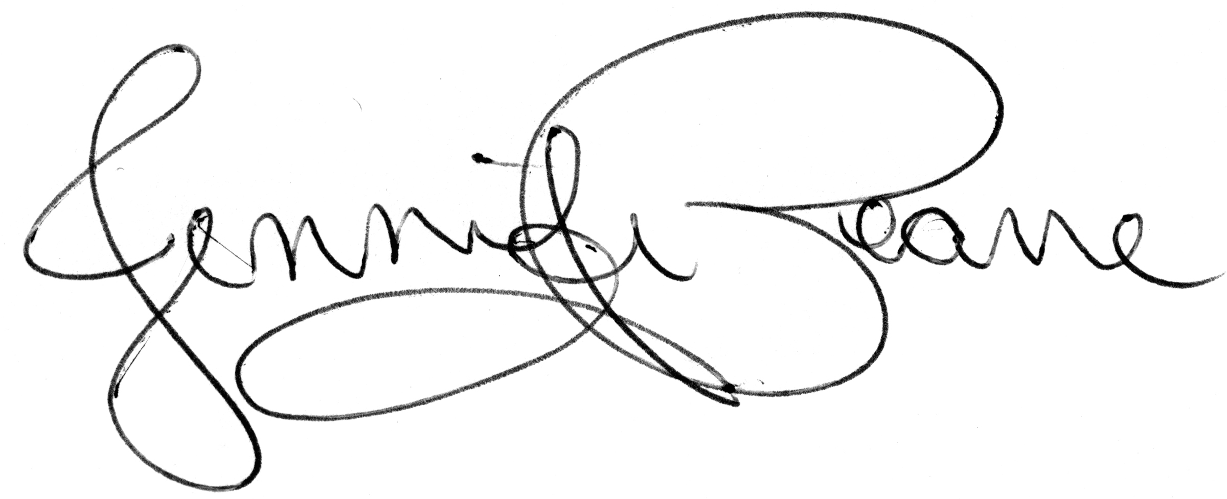 Jennifer Pearre's Signature