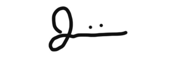 Jason Herdigein's Signature