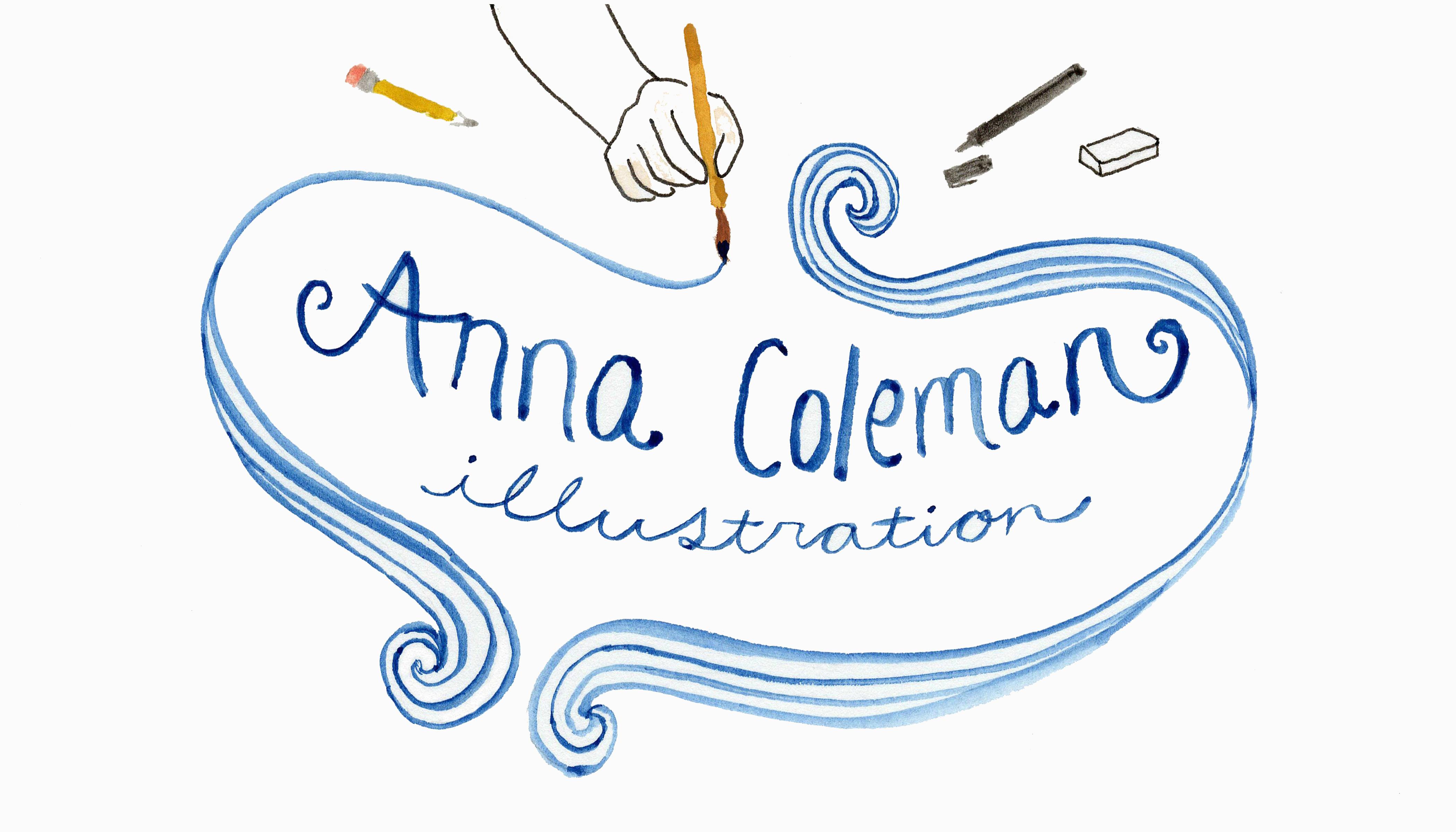 Anna Coleman's Signature