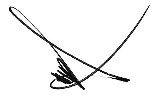 JOel Garcia's Signature