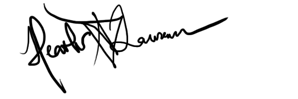 Heather Laurence's Signature
