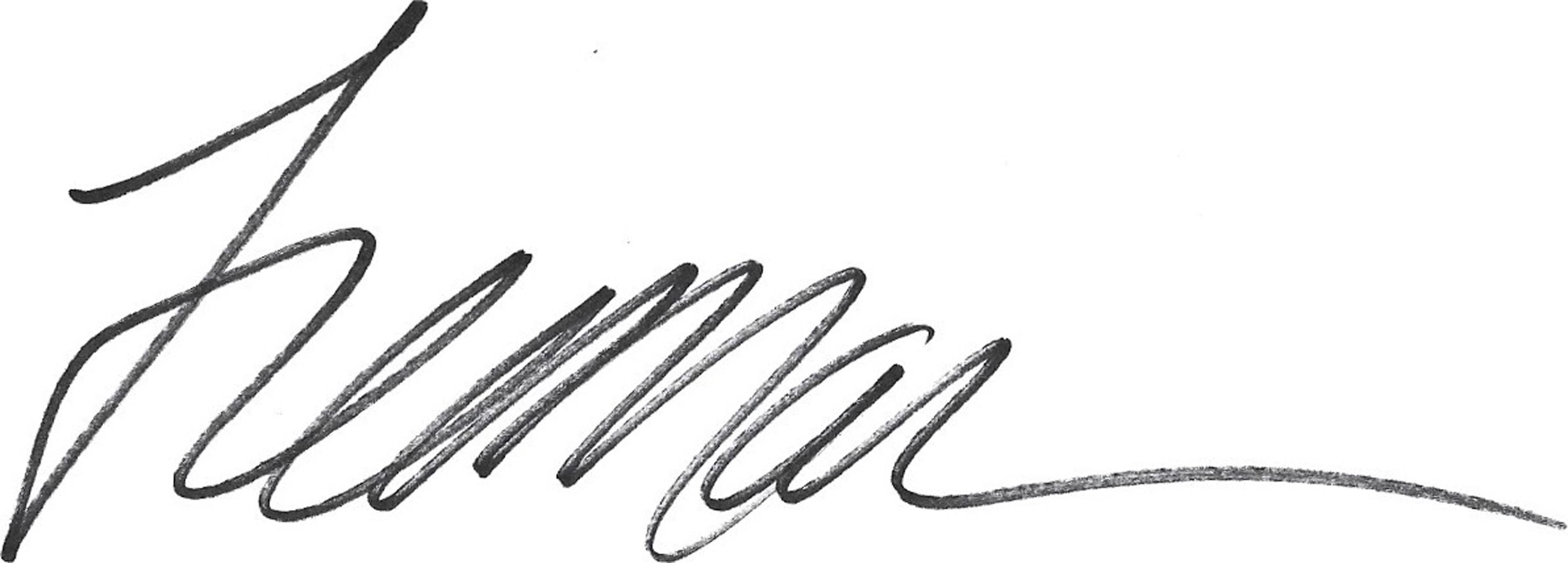 Janice Freeman's Signature
