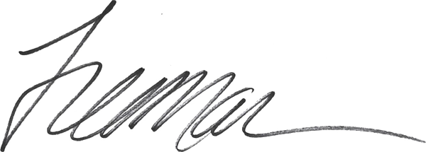 Janice Freeman's Signature