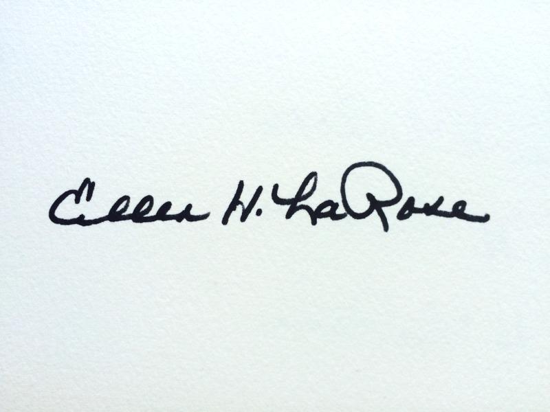 Ellen LaRose's Signature