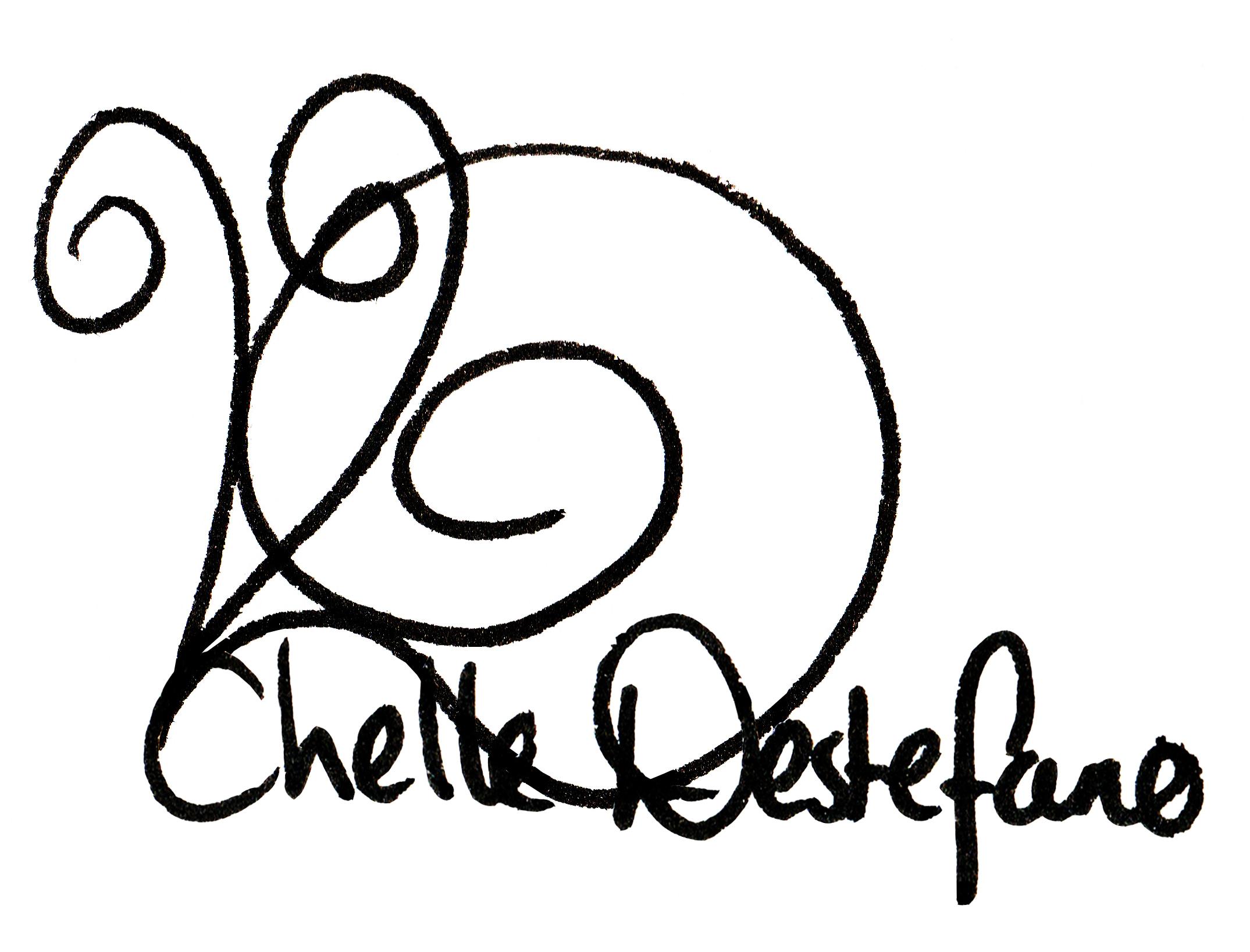 Chelle Destefano's Signature