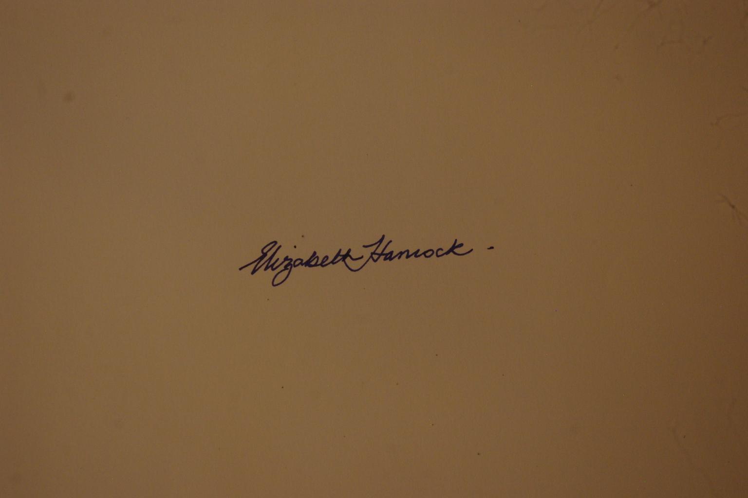 elizabeth hancock's Signature
