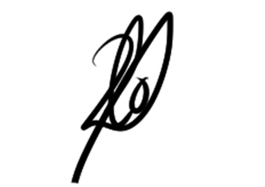 Laura Ortega's Signature