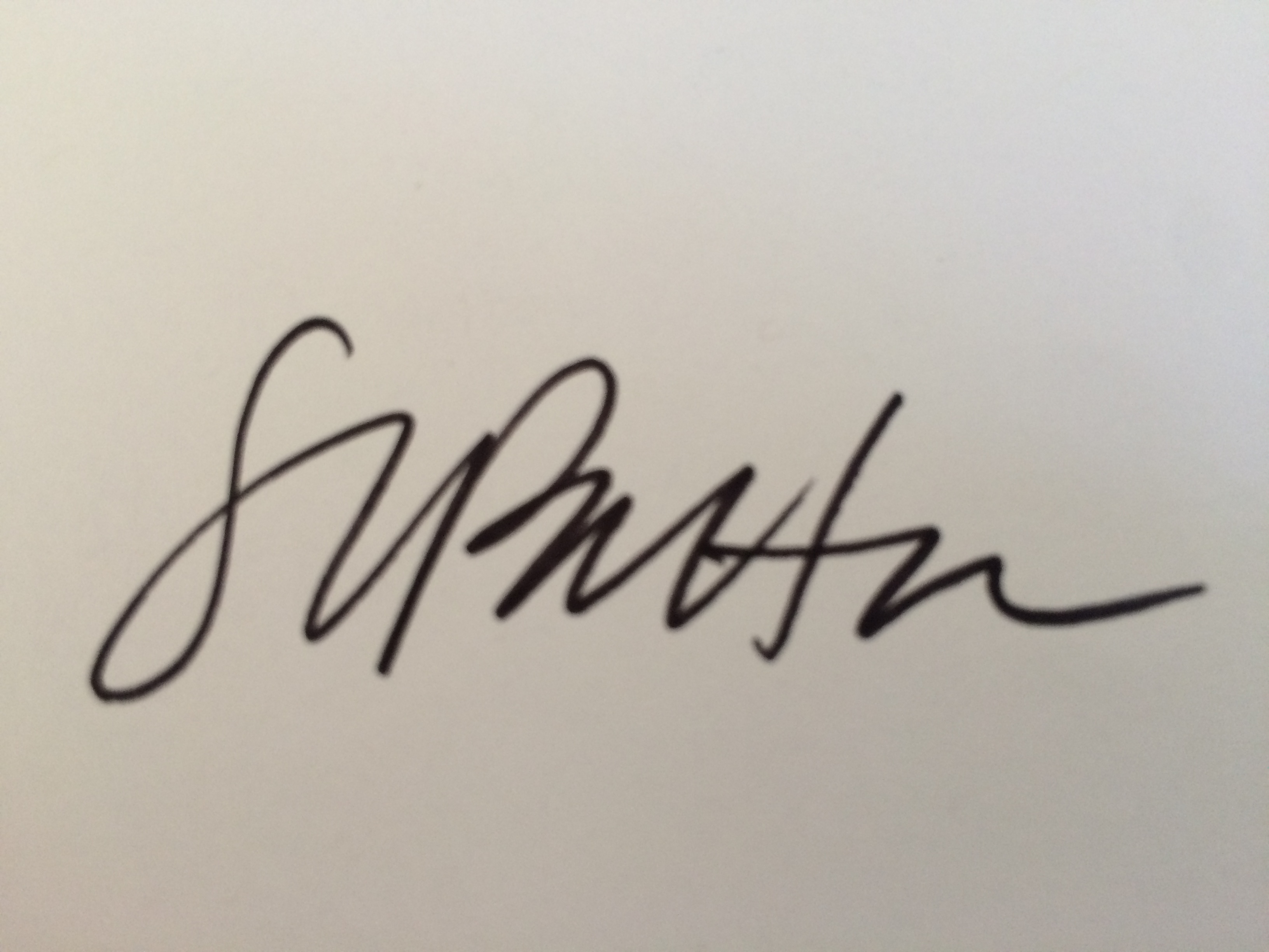 Shelley Patton's Signature