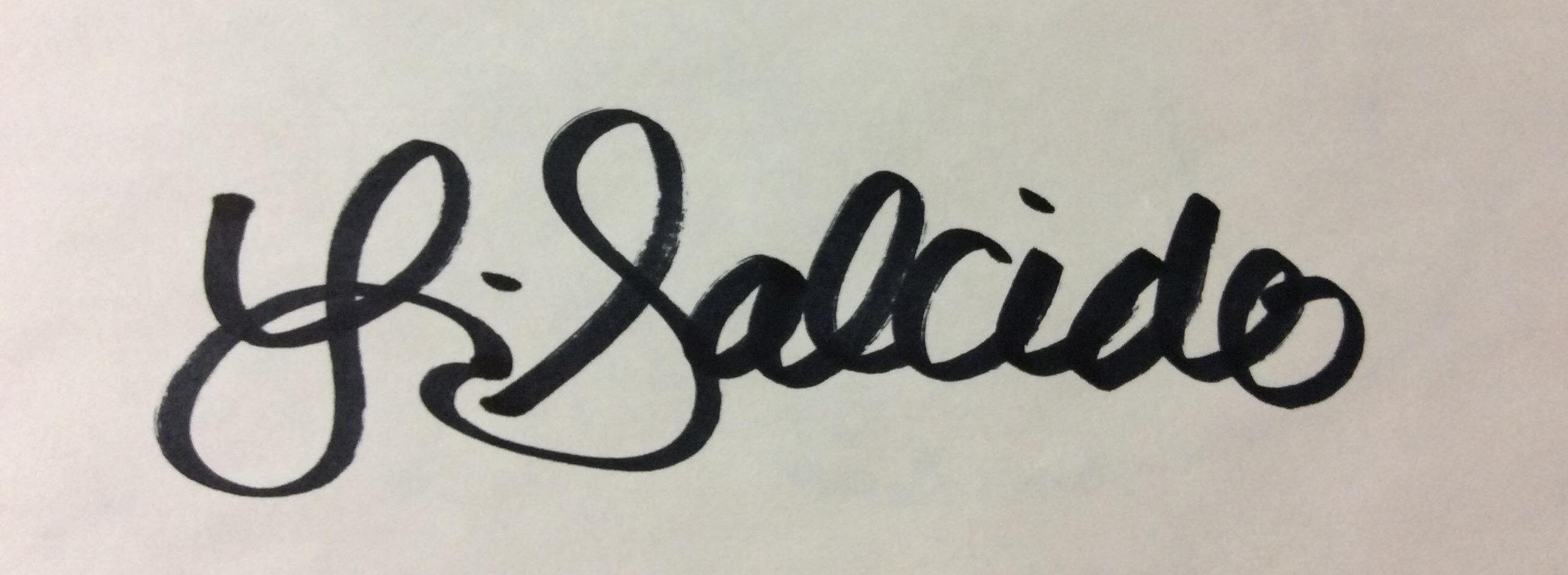 Laura Salcido's Signature
