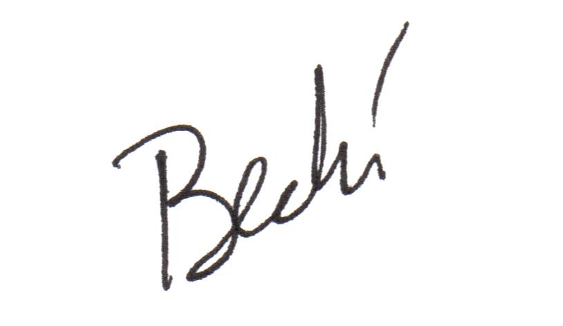 Becki Mansolillo's Signature