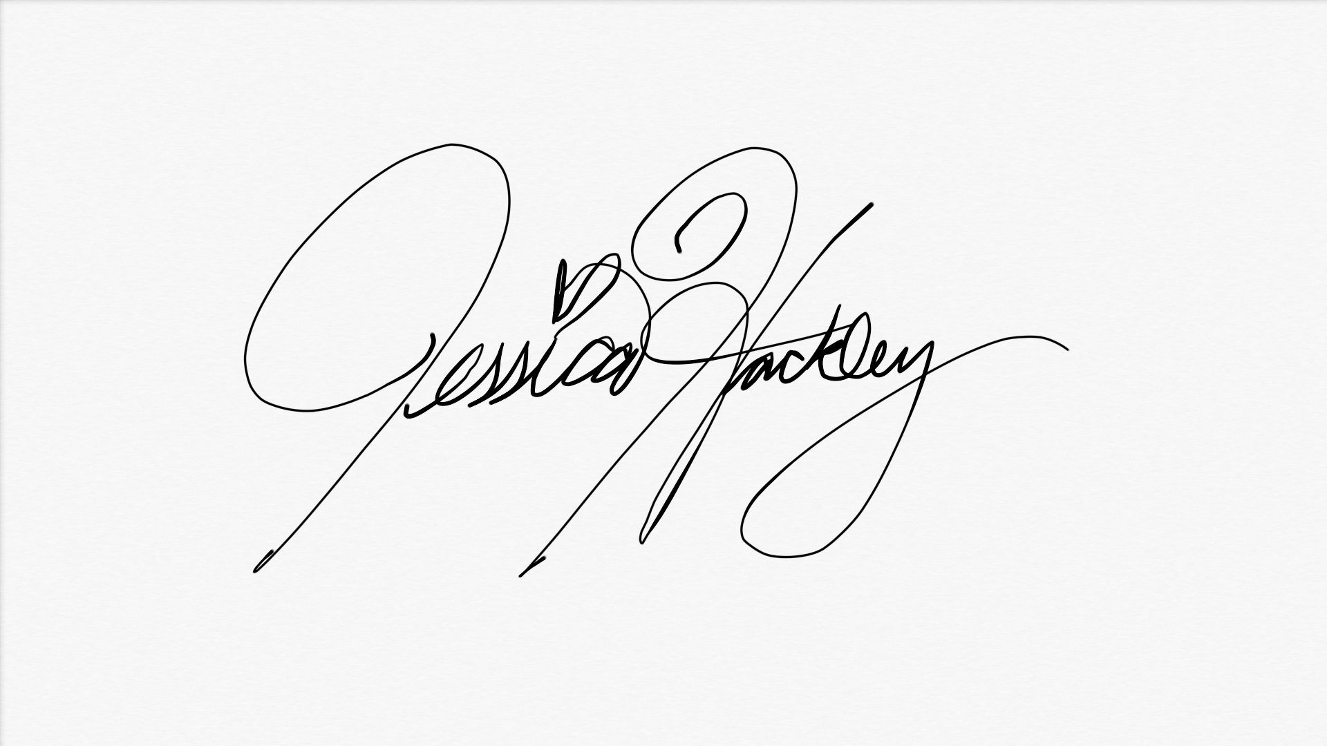 Jessica Hackley's Signature