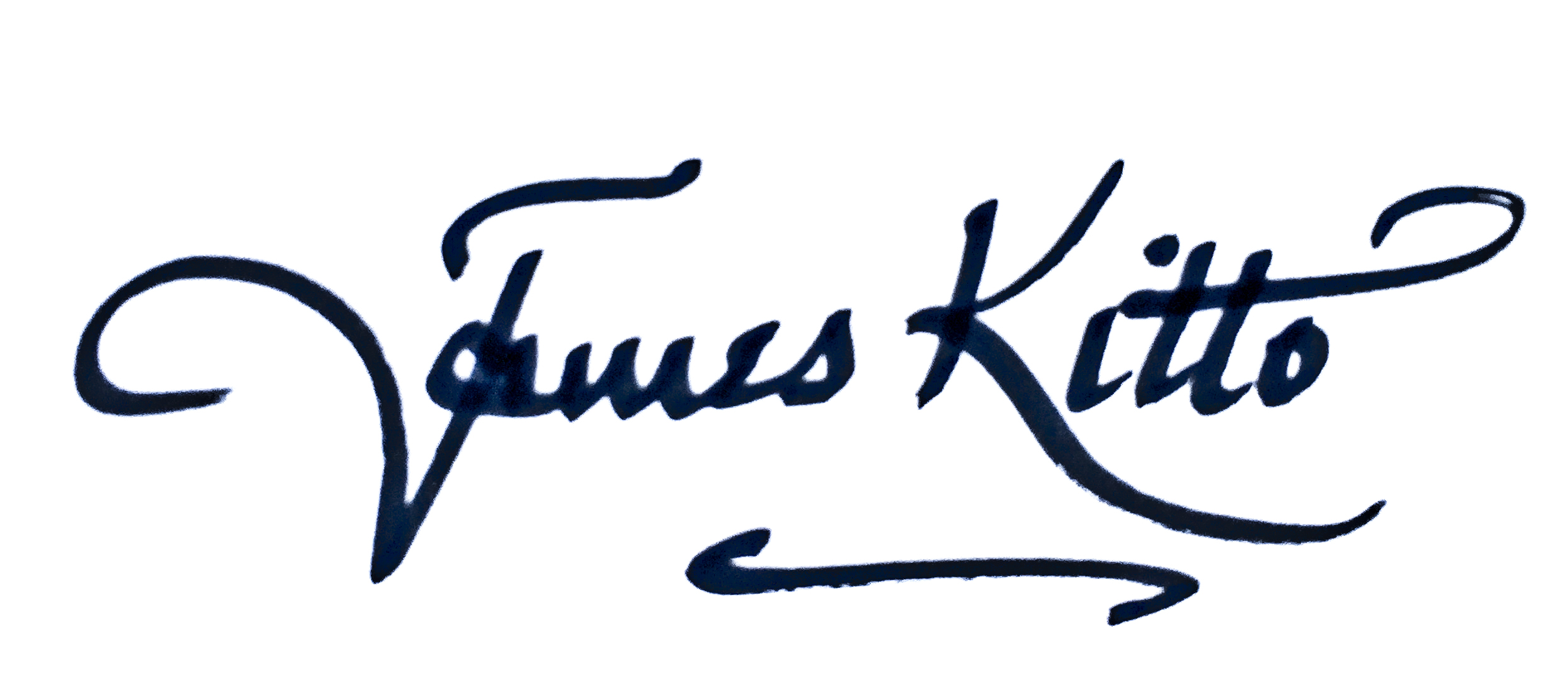 James Kitto's Signature