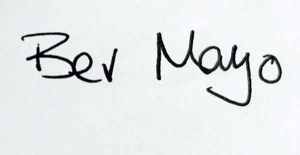 Bev Mayo's Signature
