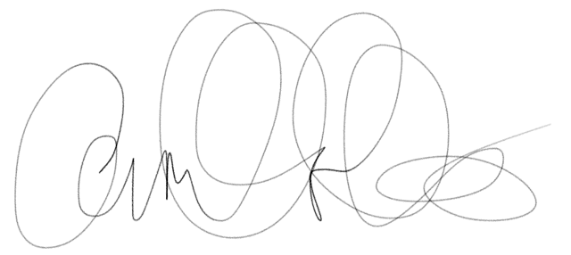 camille charles's Signature