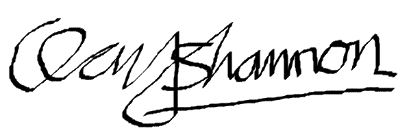 Clay Shannon's Signature