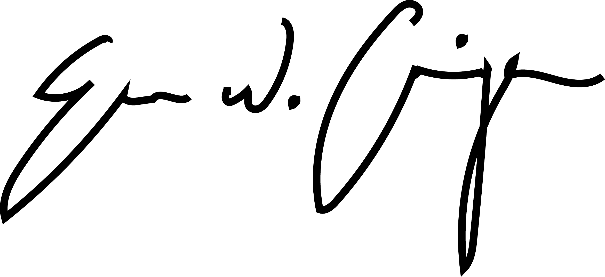 Evan Carrigan's Signature