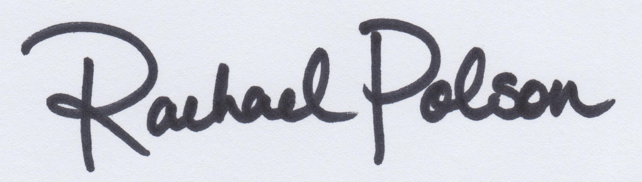 Rachael Polson's Signature