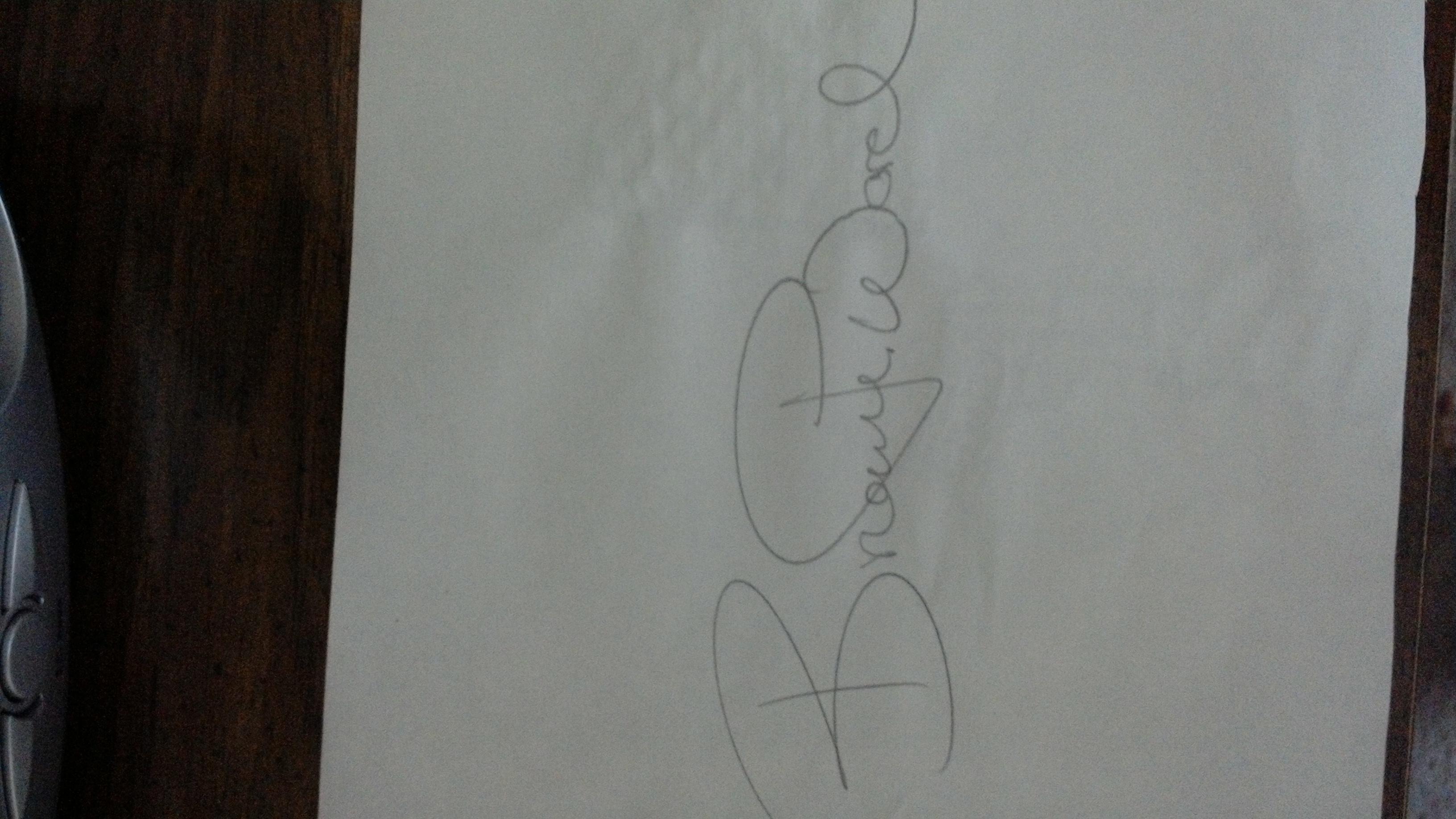 Brieane Pace's Signature