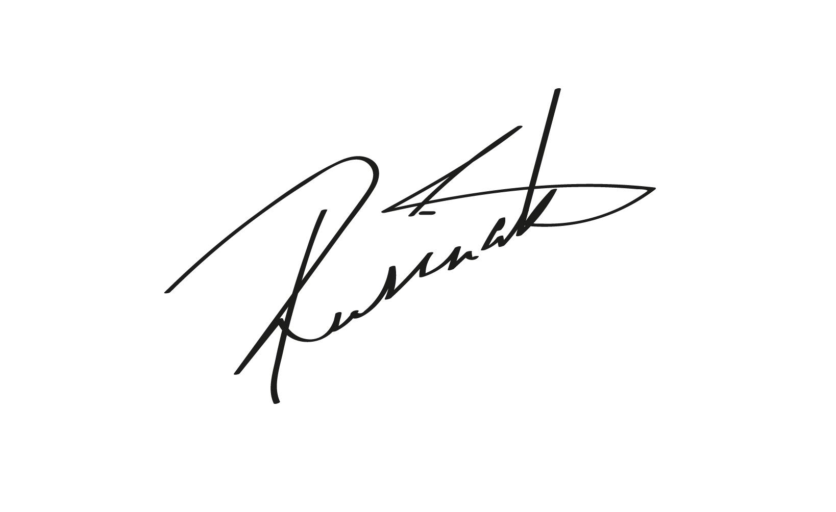Lucia Rusinakova's Signature