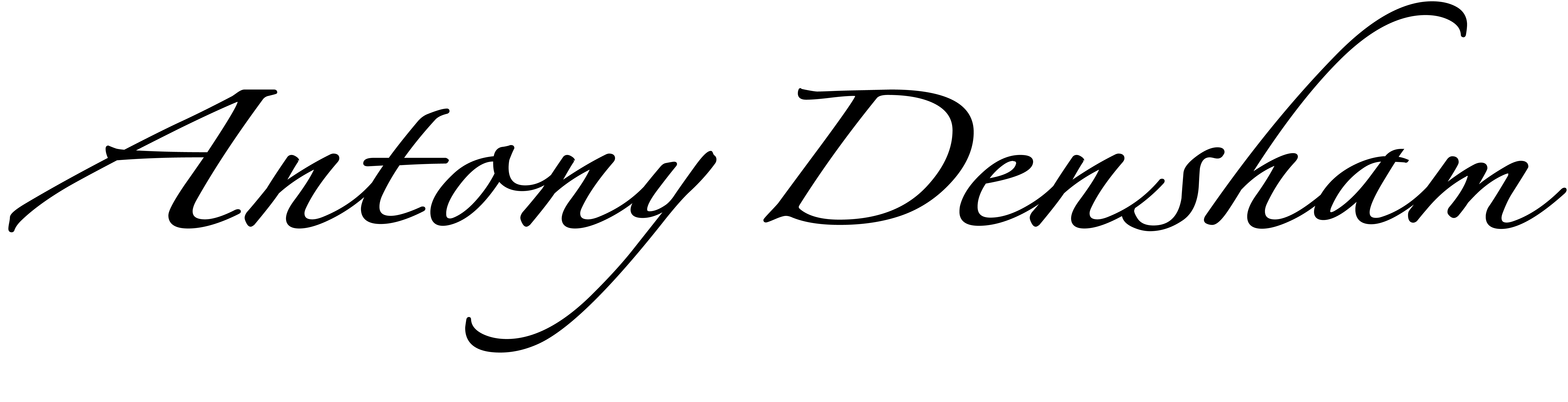 Antony Densham's Signature
