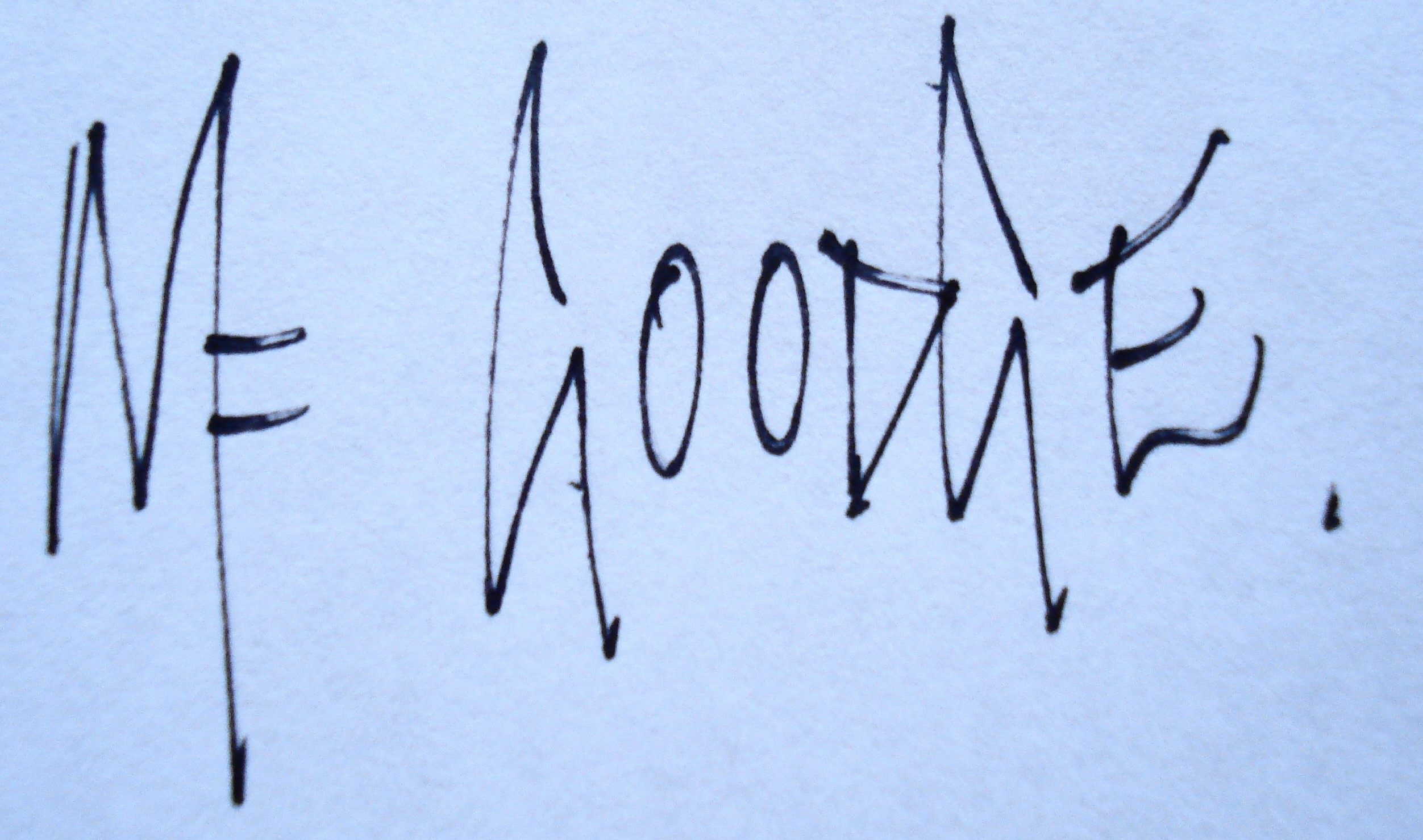 Mike Goodge's Signature