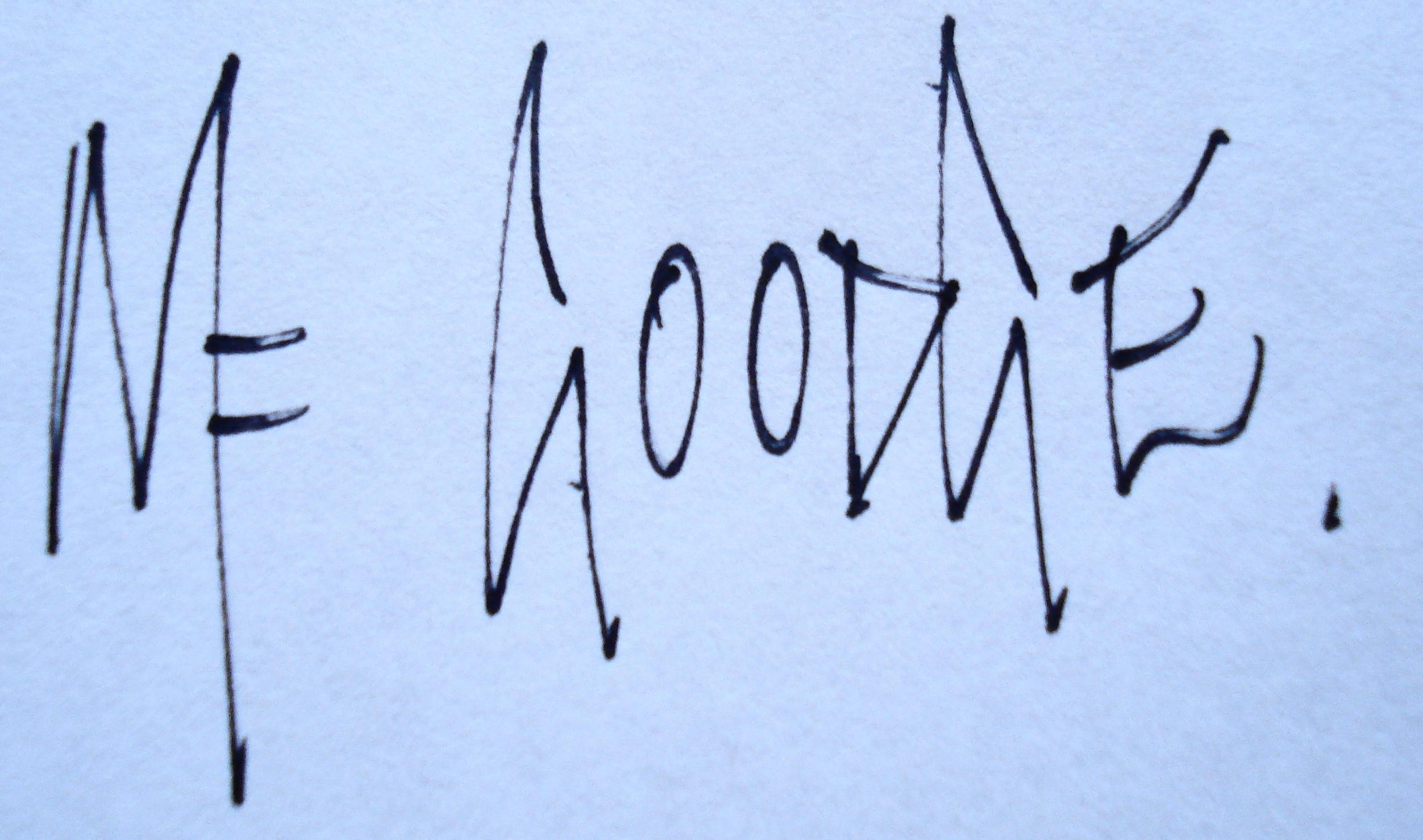 Mike Goodge's Signature