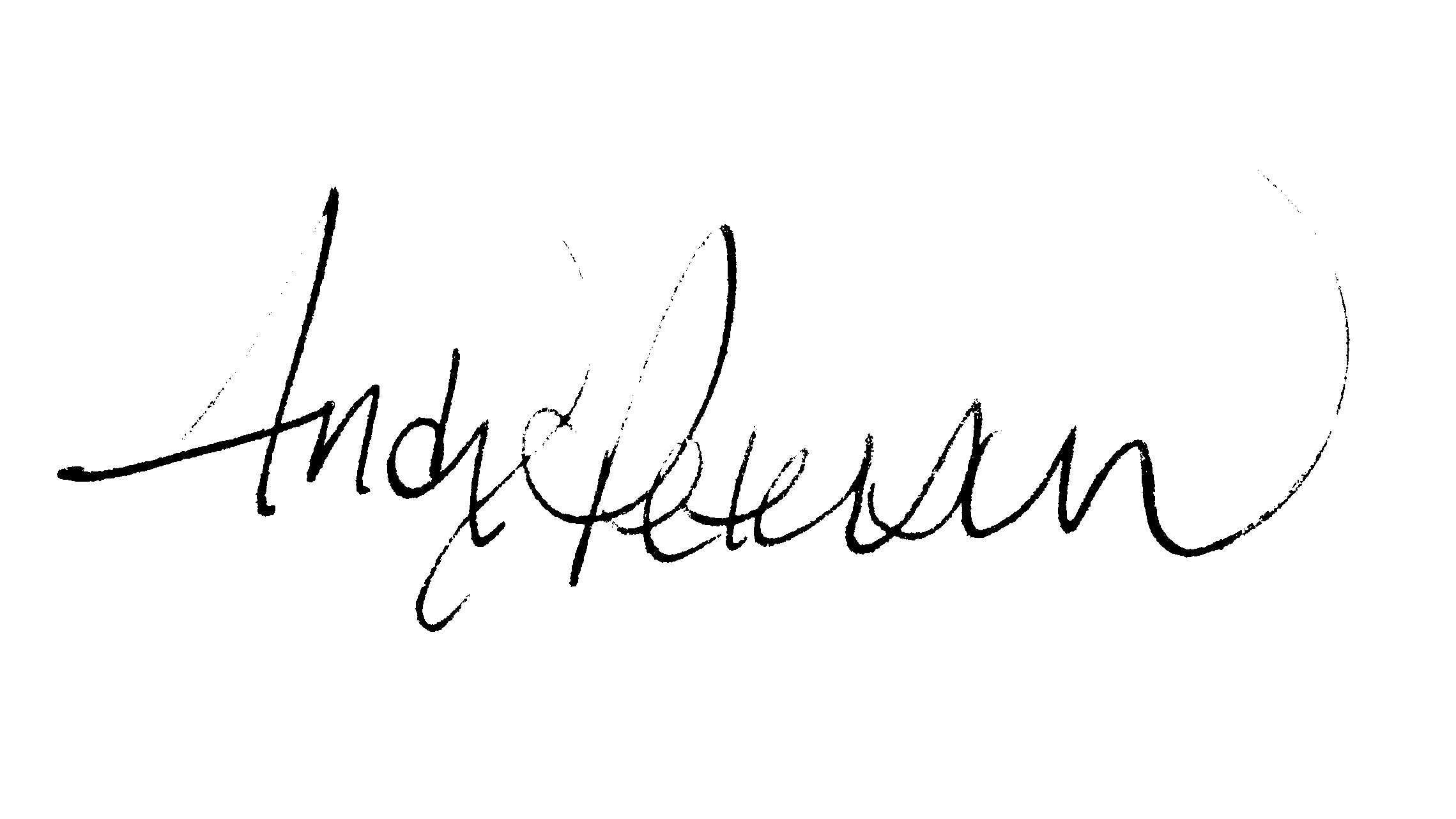 Andy Peterson's Signature