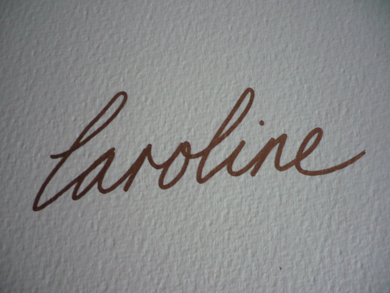 Caroline Philp's Signature