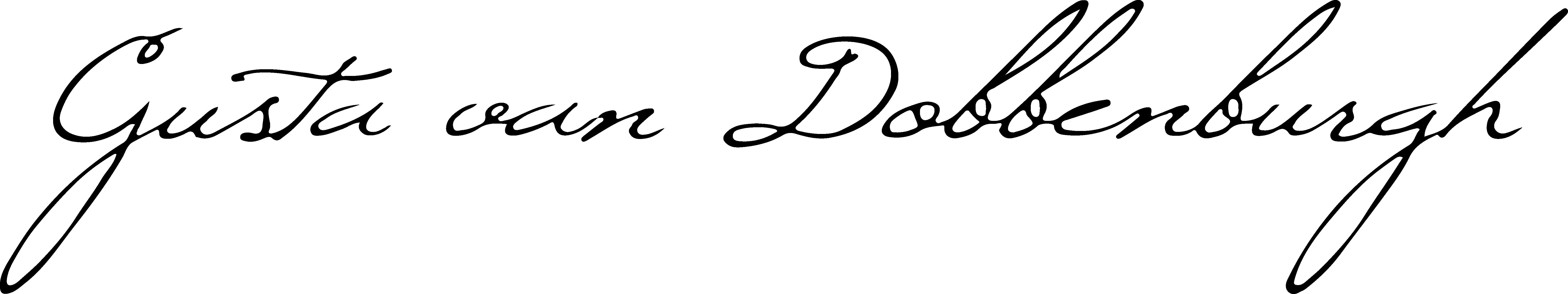 Gusta Van Dobbenburgh's Signature