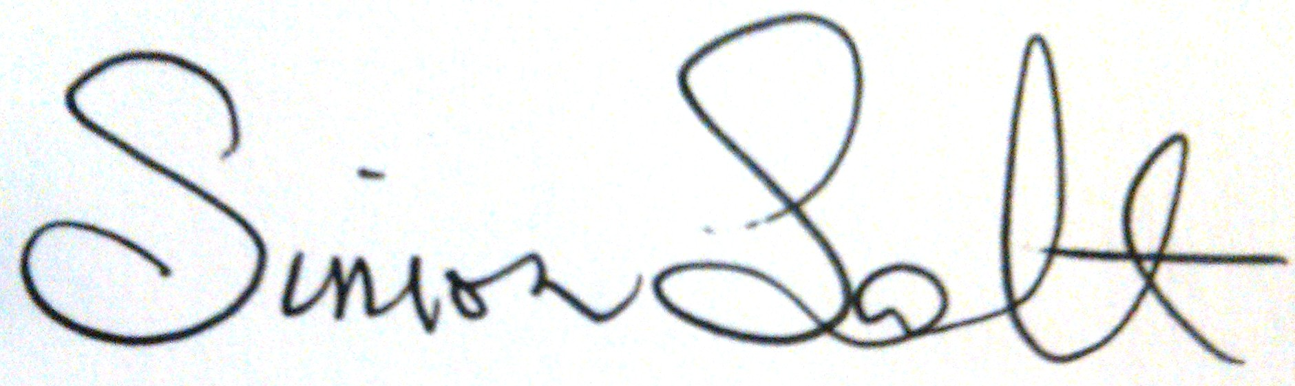 Simon Salt's Signature