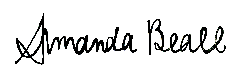 Amanda Beall's Signature