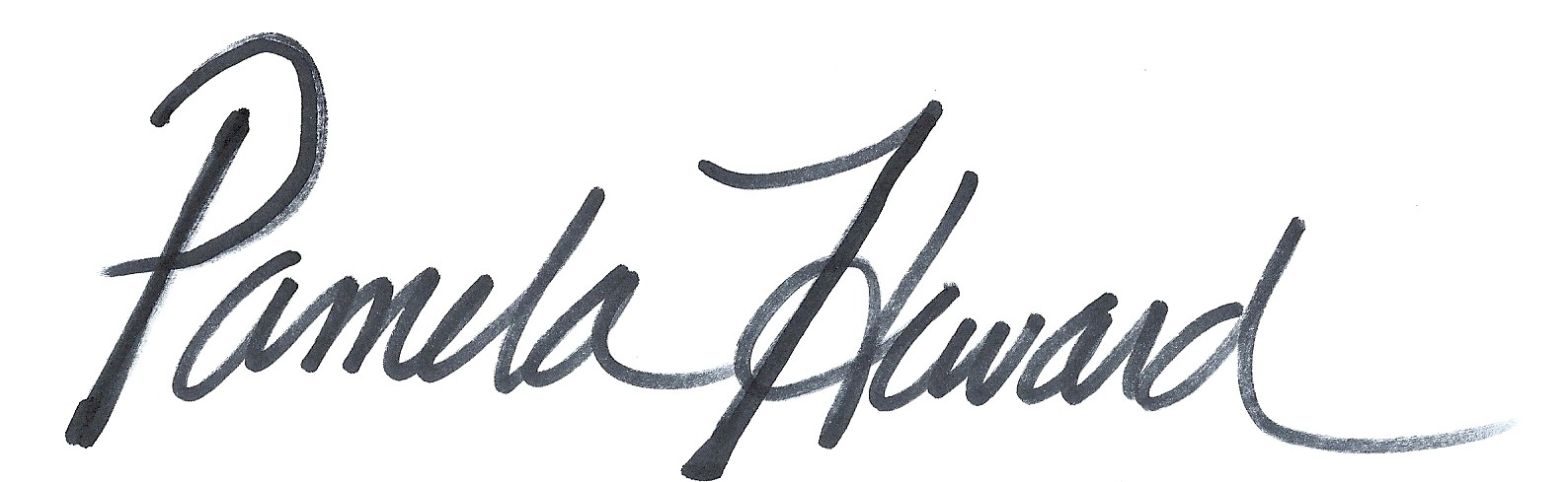 Pamela Heward's Signature